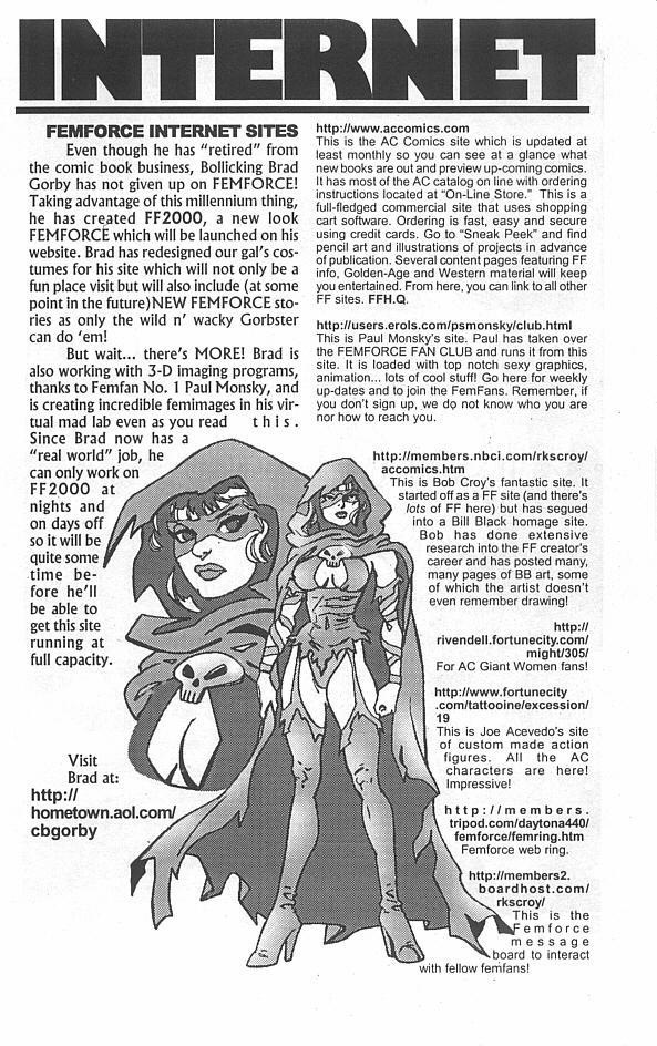 Femforce Issue #113 #113 - English 24