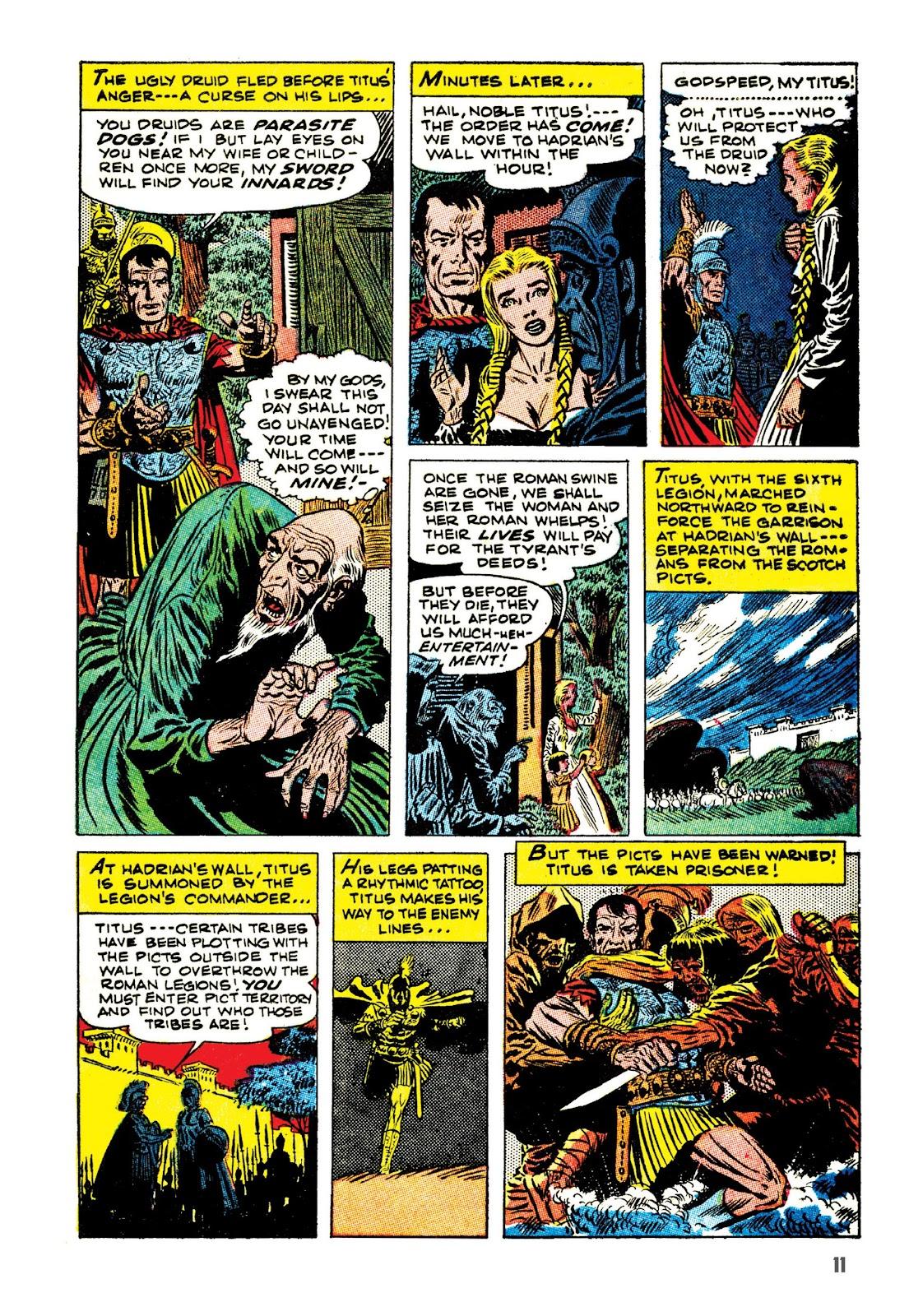 Read online The Joe Kubert Archives comic -  Issue # TPB (Part 1) - 22