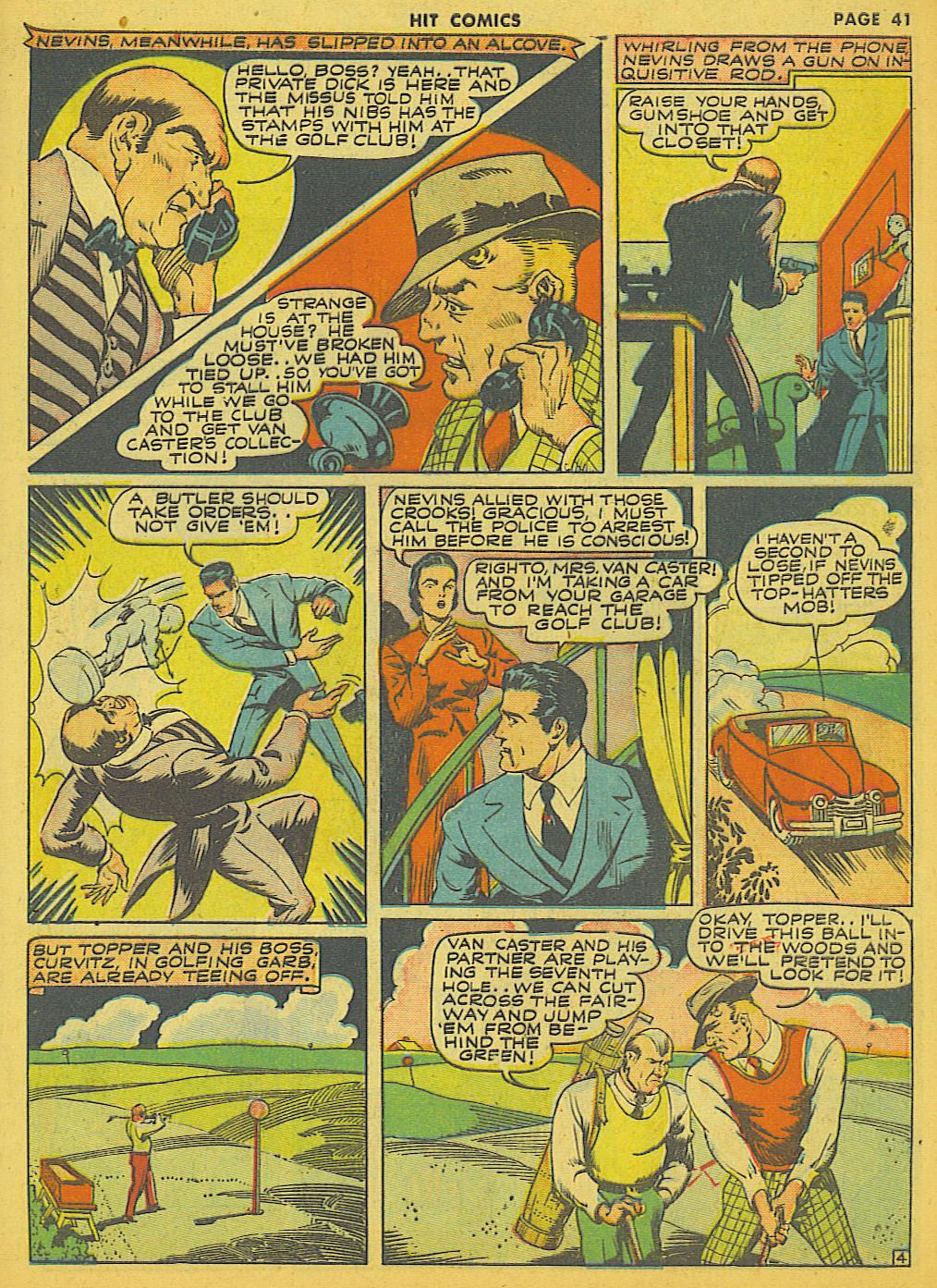 Read online Hit Comics comic -  Issue #21 - 43