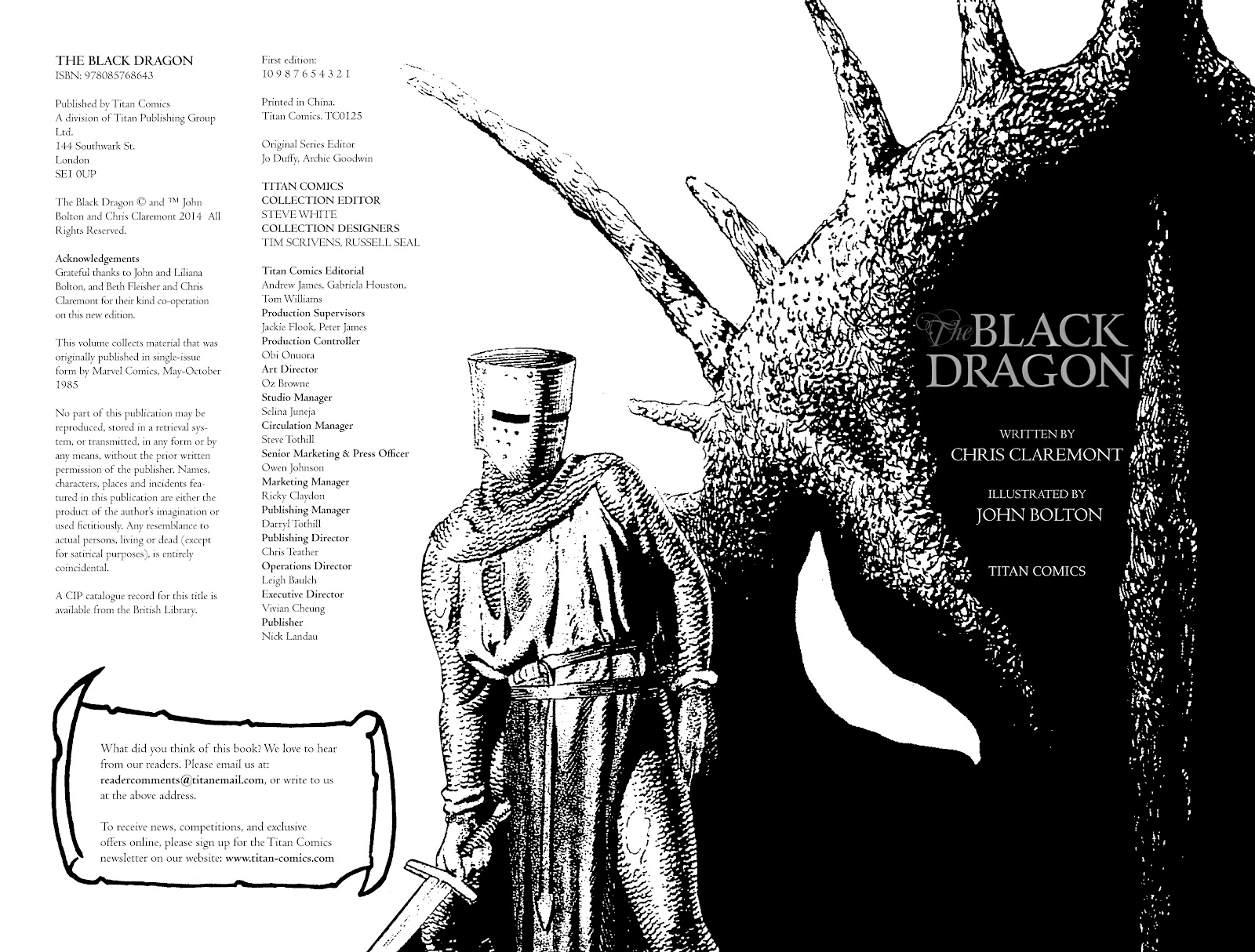 Read online The Black Dragon (2014) comic -  Issue # TPB (Part 1) - 3