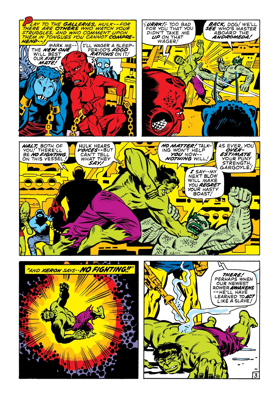 Read online Marvel Masterworks: The Incredible Hulk comic -  Issue # TPB 7 (Part 1) - 50