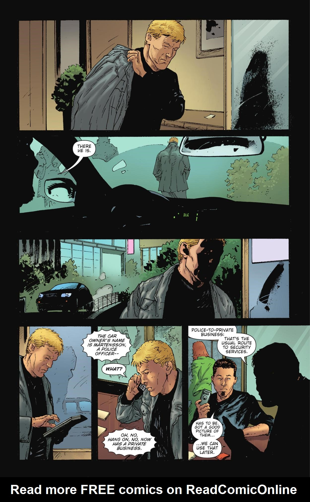 Read online The Girl Who Kicked The Hornet's Nest comic -  Issue # TPB - 123