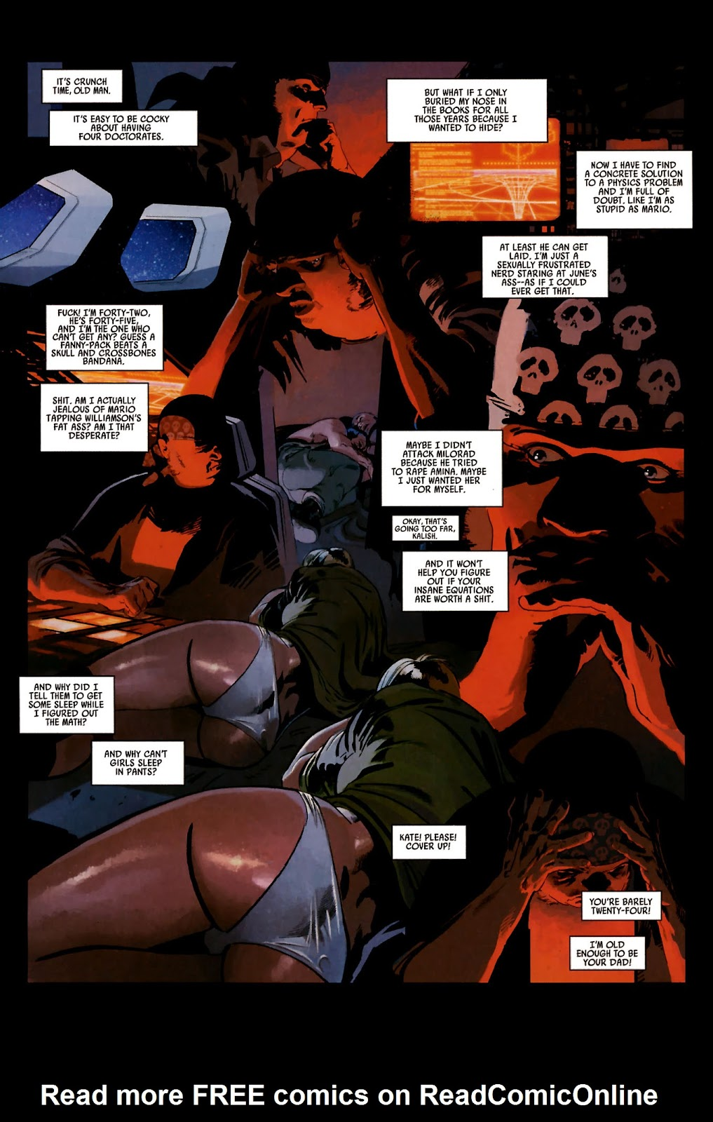 Read online Universal War One: Revelations comic -  Issue #2 - 13