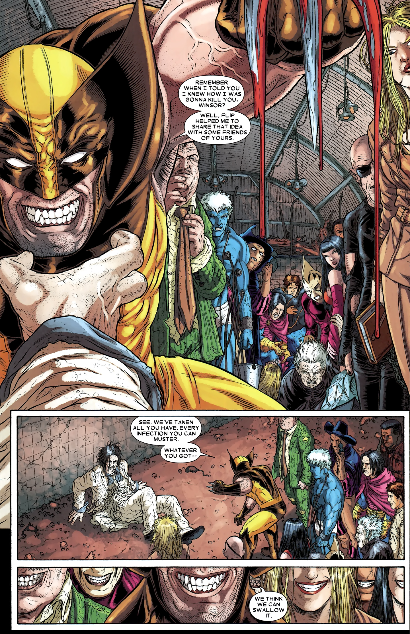 Read online Wolverine: The Best There Is comic -  Issue #12 - 19