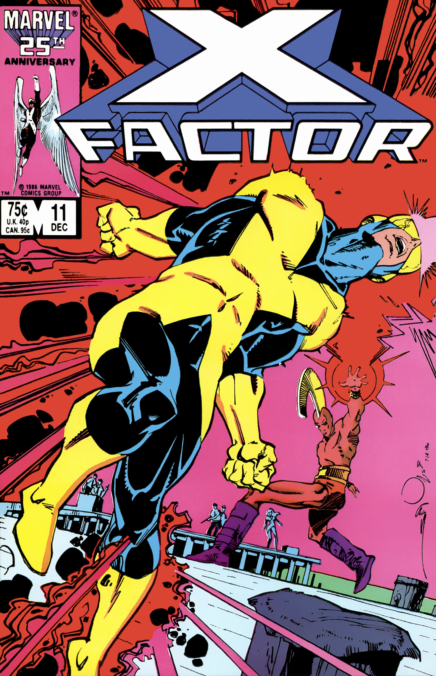 Read online X-Factor (1986) comic -  Issue #11 - 1