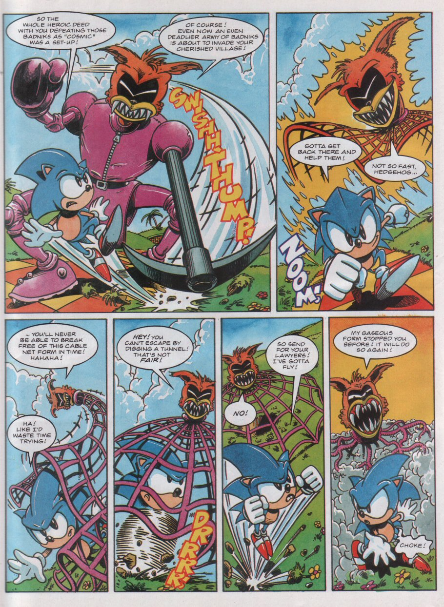 Read online Sonic the Comic comic -  Issue #31 - 7