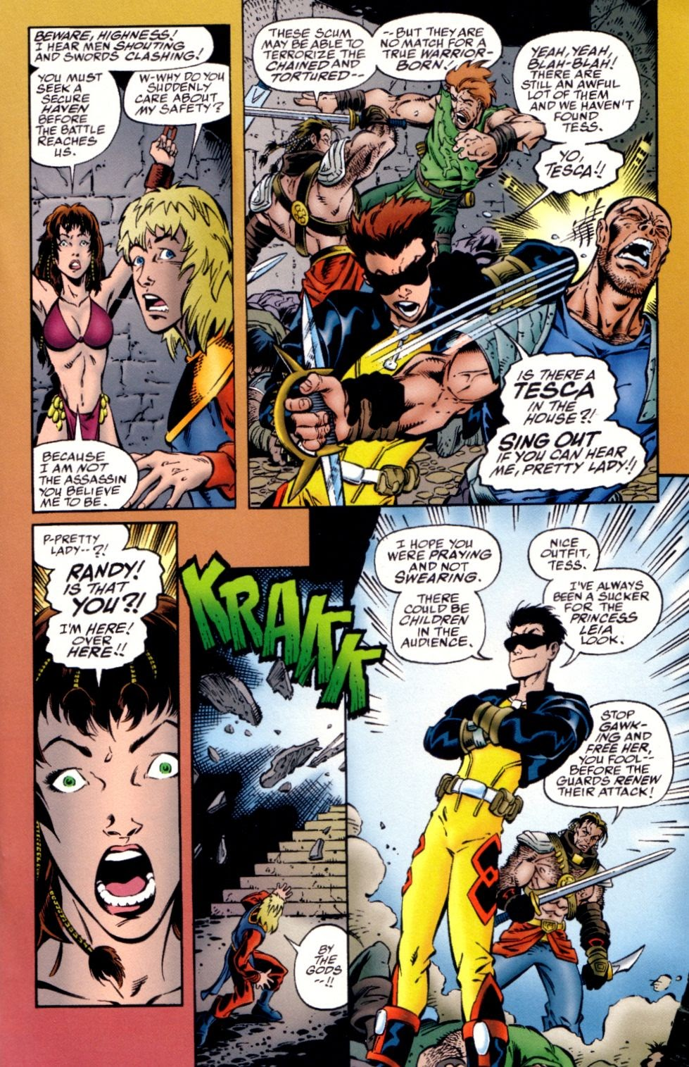 Read online Randy O'Donnell is The M@N comic -  Issue #2 - 16