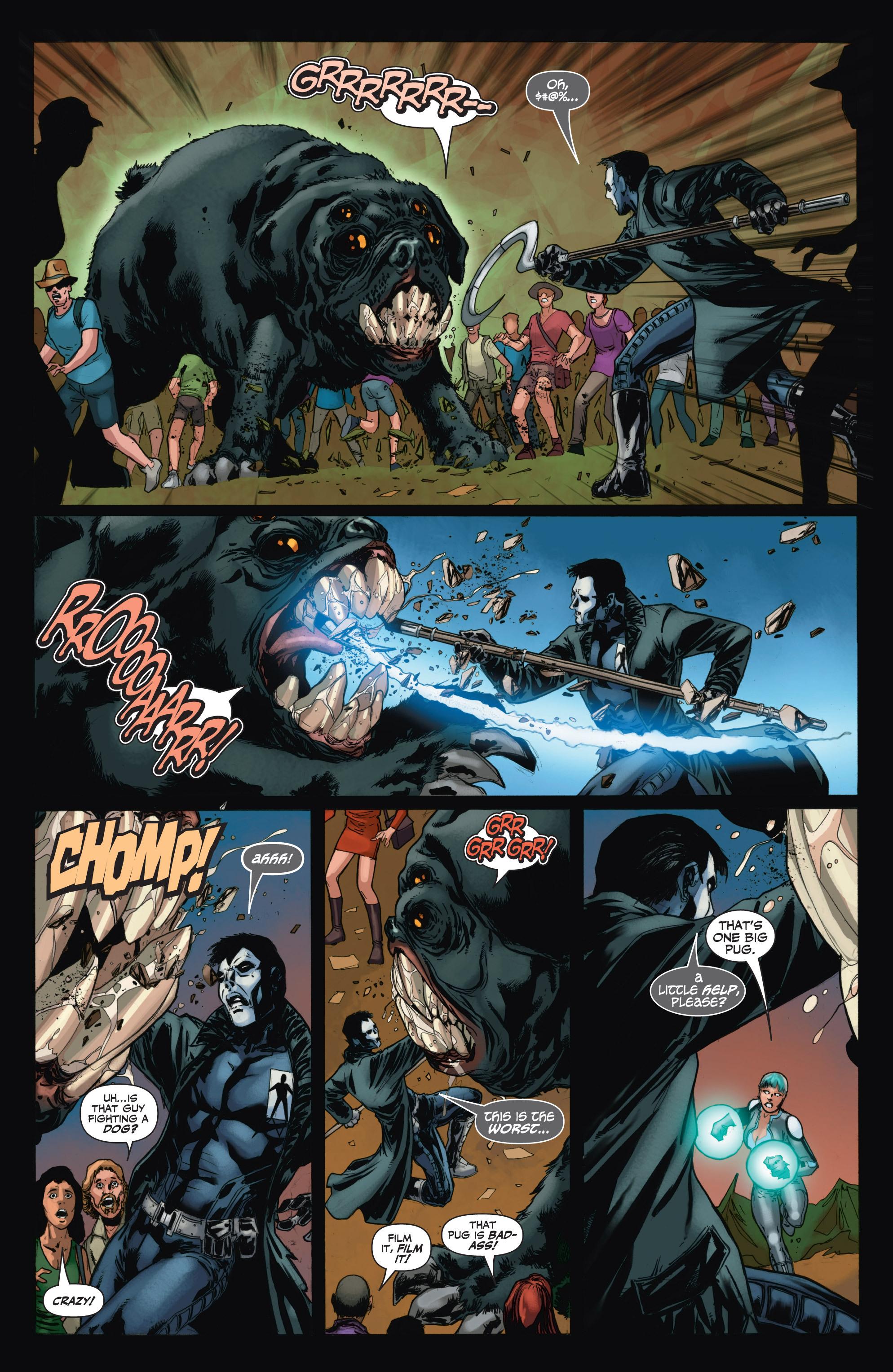 Read online Shadowman (2012) comic -  Issue #11 - 20