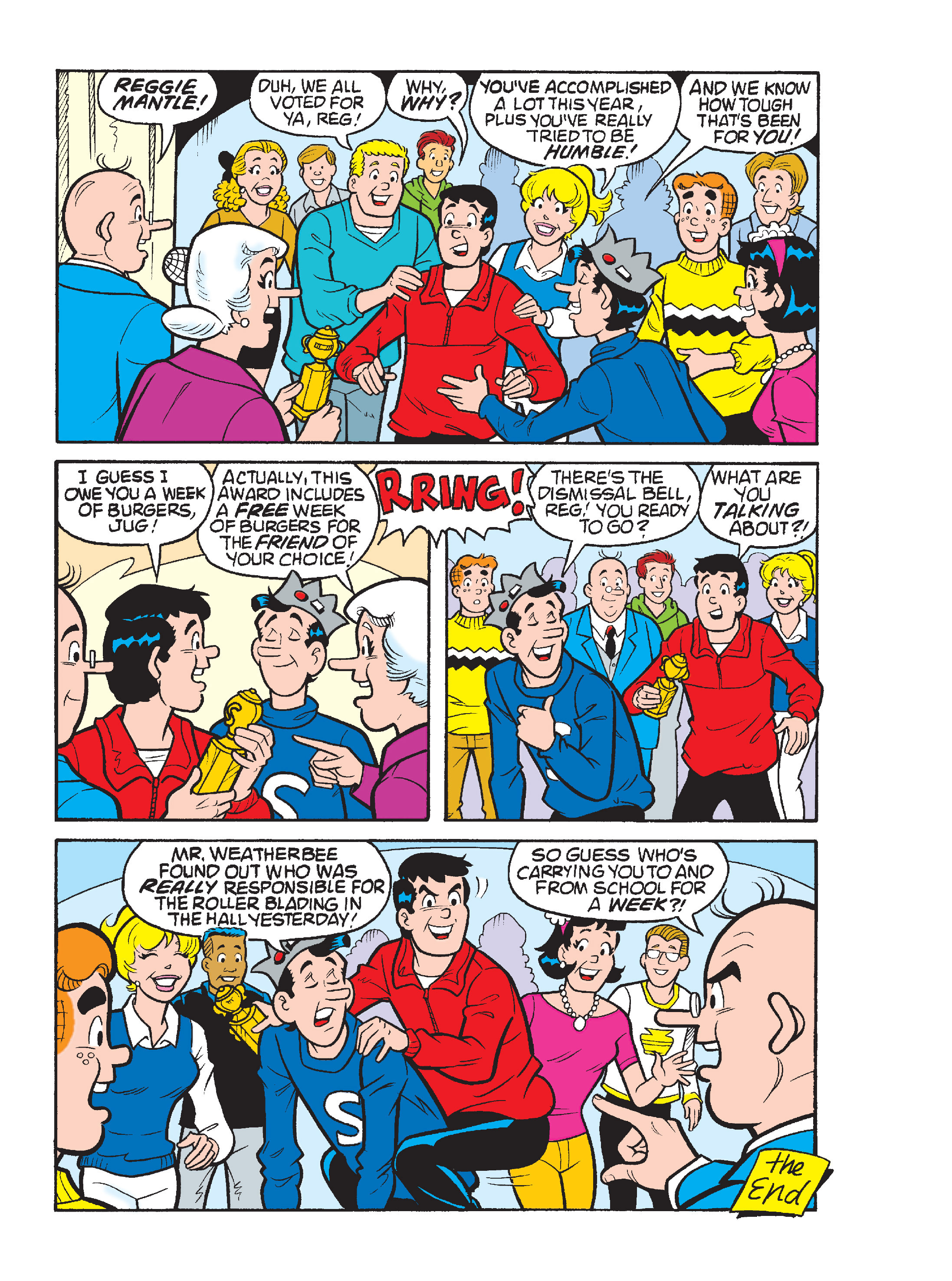 Read online Archie's Funhouse Double Digest comic -  Issue #17 - 151