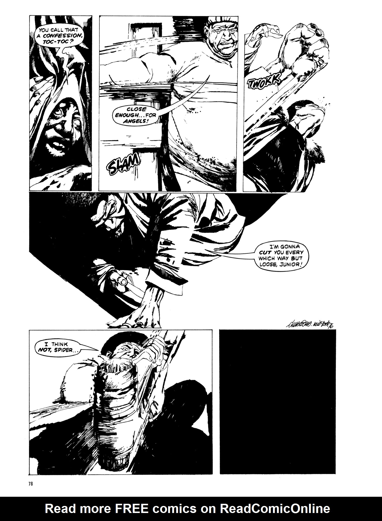 Read online Eerie Archives comic -  Issue # TPB 20 - 78