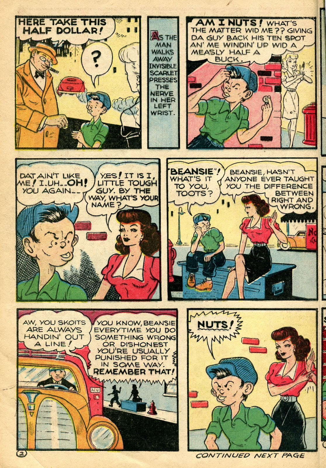 Read online Famous Funnies comic -  Issue #110 - 12