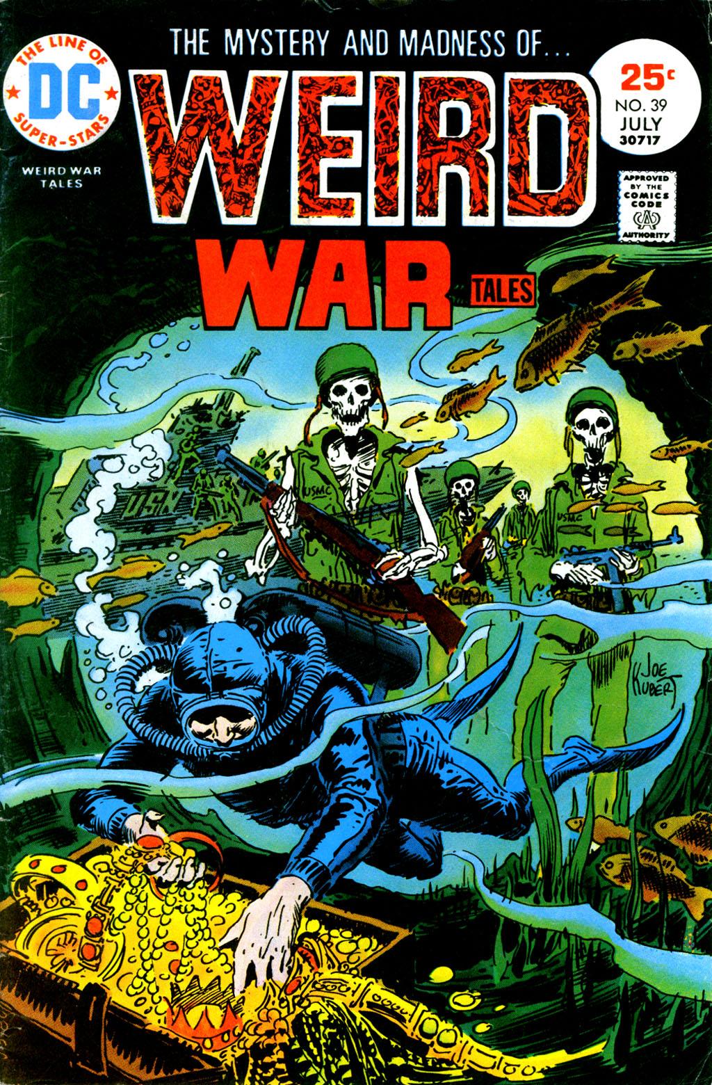 Weird War Tales (1971) issue 39 - Page 1