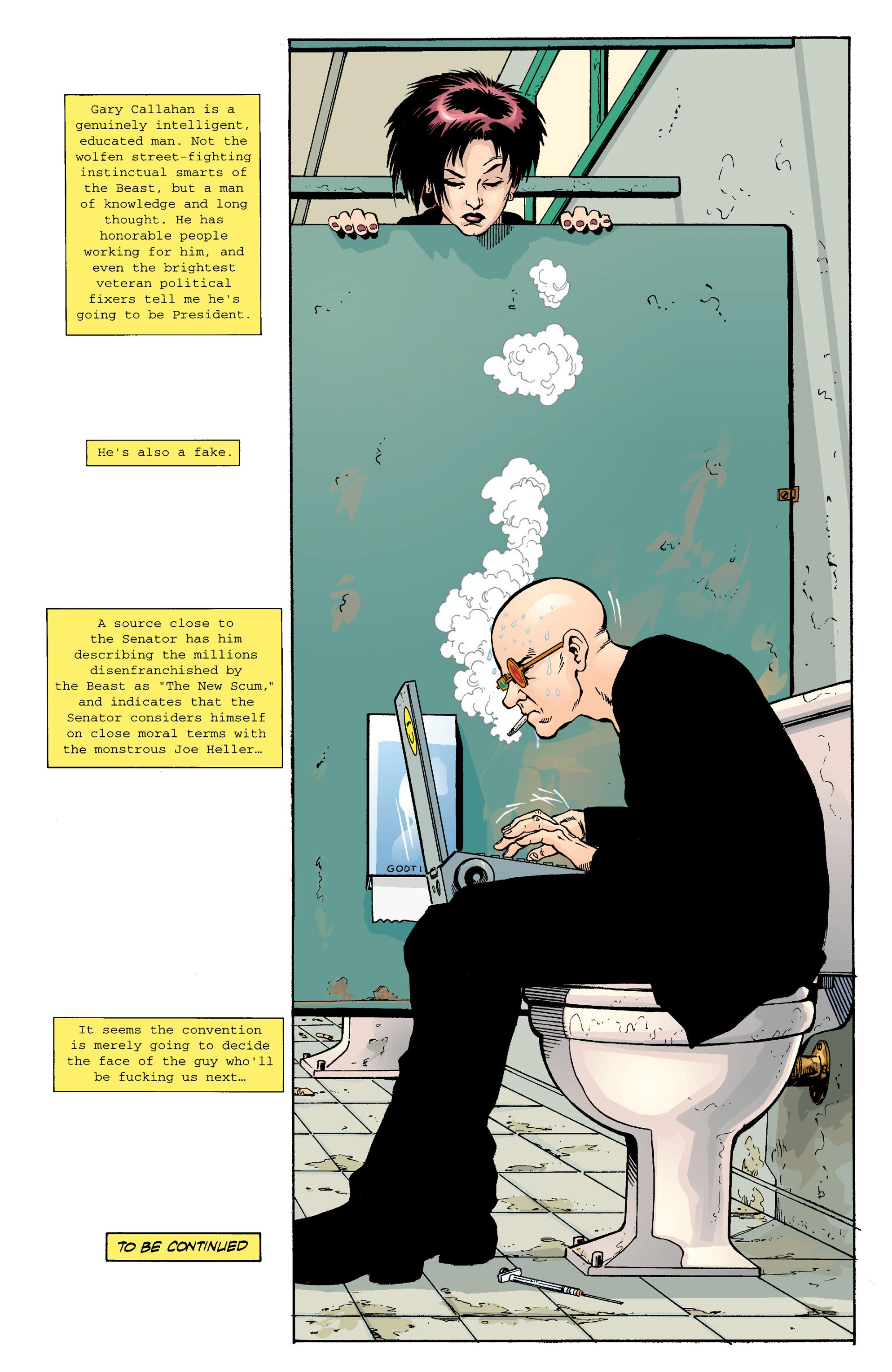 Read online Transmetropolitan comic -  Issue #14 - 23