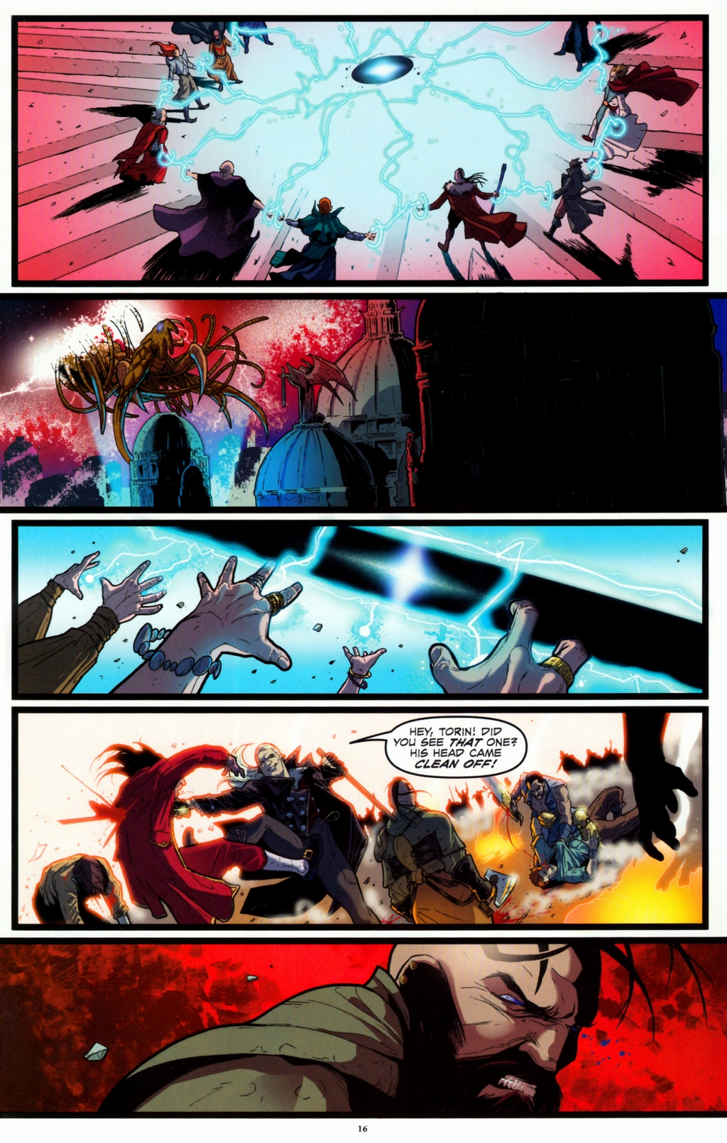 Read online Infestation 2: Dungeons & Dragons comic -  Issue #2 - 18