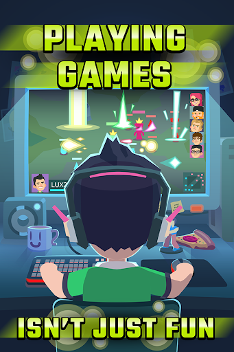 League of Gamers Be an E-Sports Legend Mod