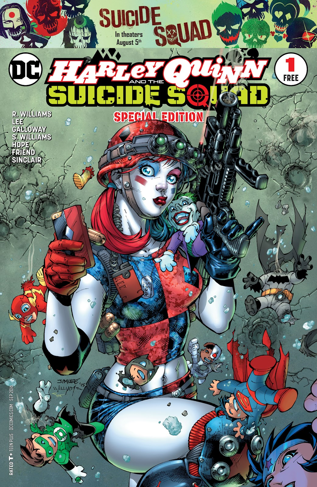 Read online Harley Quinn & the Suicide Squad Special Edition comic -  Issue # Full - 1
