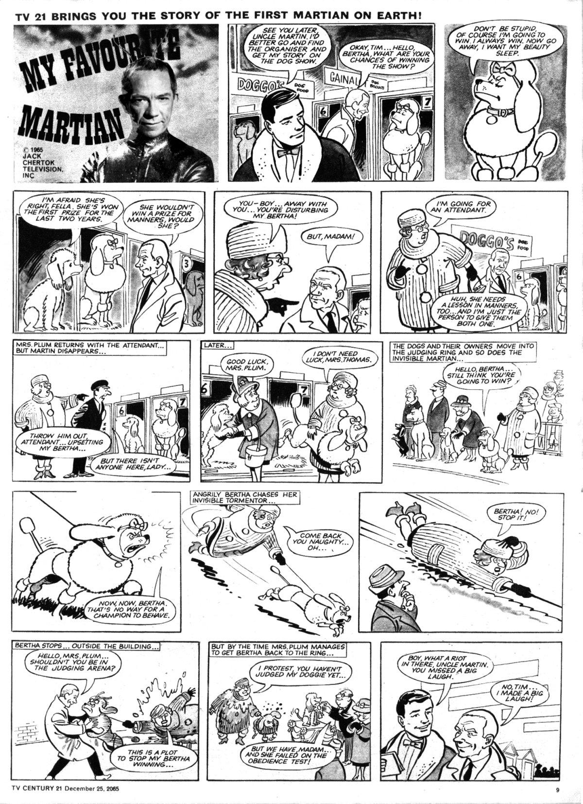 Read online TV Century 21 (TV 21) comic -  Issue #49 - 9
