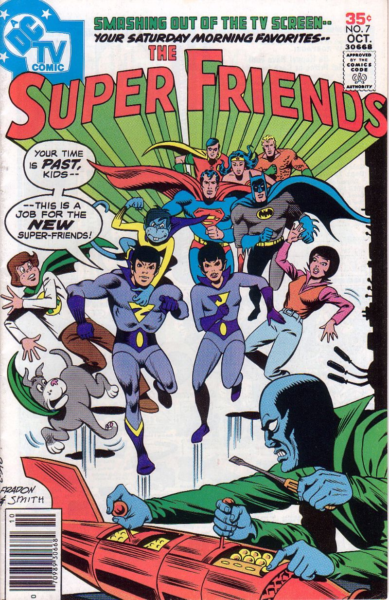 The Super Friends issue 7 - Page 1