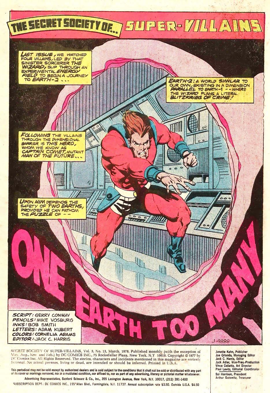 Read online Secret Society of Super-Villains comic -  Issue #13 - 2