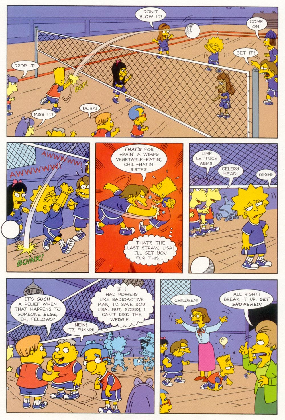 Read online Treehouse of Horror comic -  Issue #5 - 6