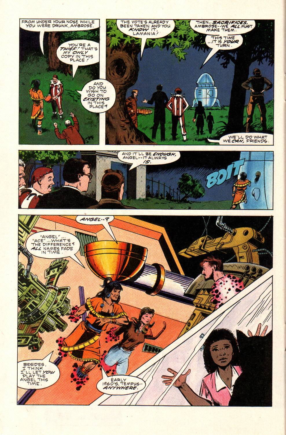 Read online Aztec Ace comic -  Issue #9 - 26