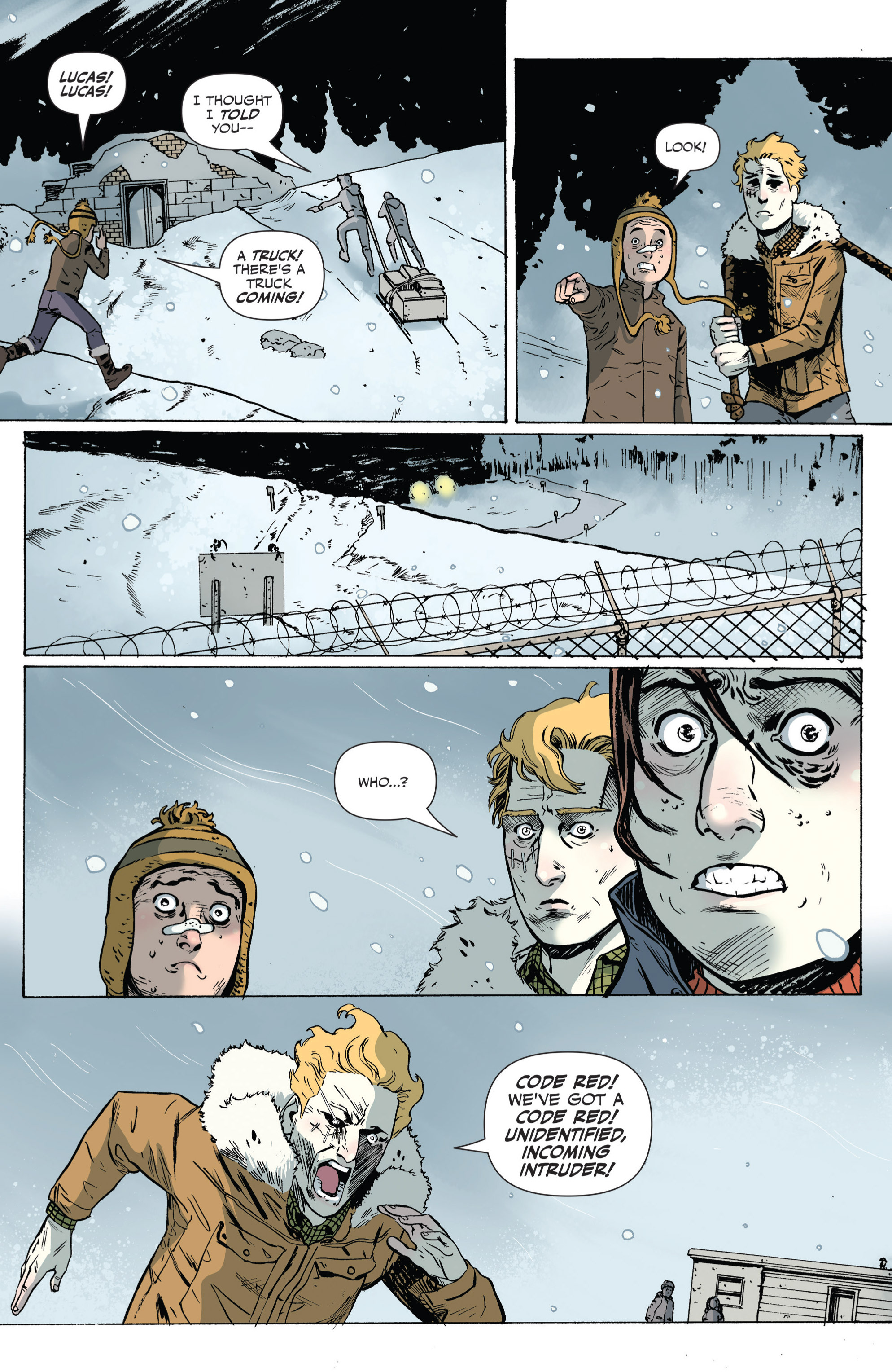 Read online Sheltered comic -  Issue #5 - 15