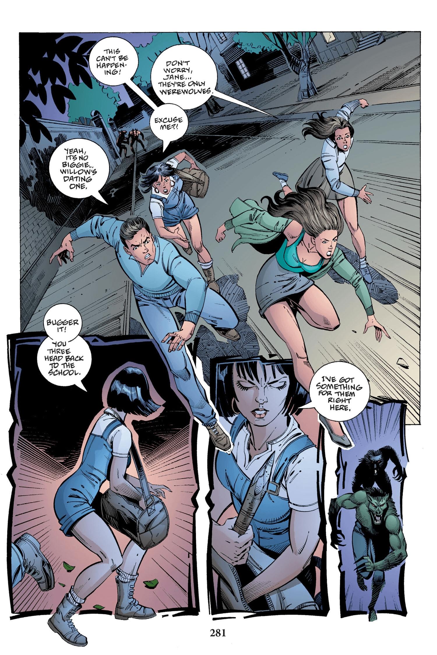 Read online Buffy the Vampire Slayer: Omnibus comic -  Issue # TPB 2 - 273