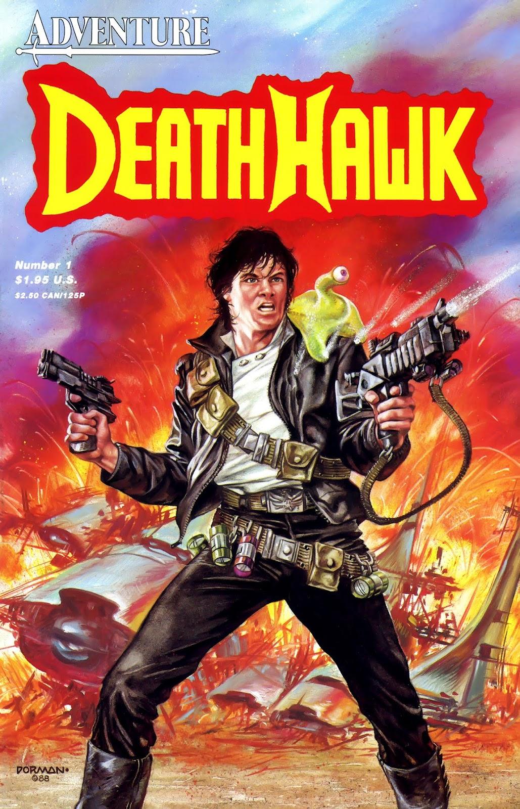 Death Hawk 1 Page 1