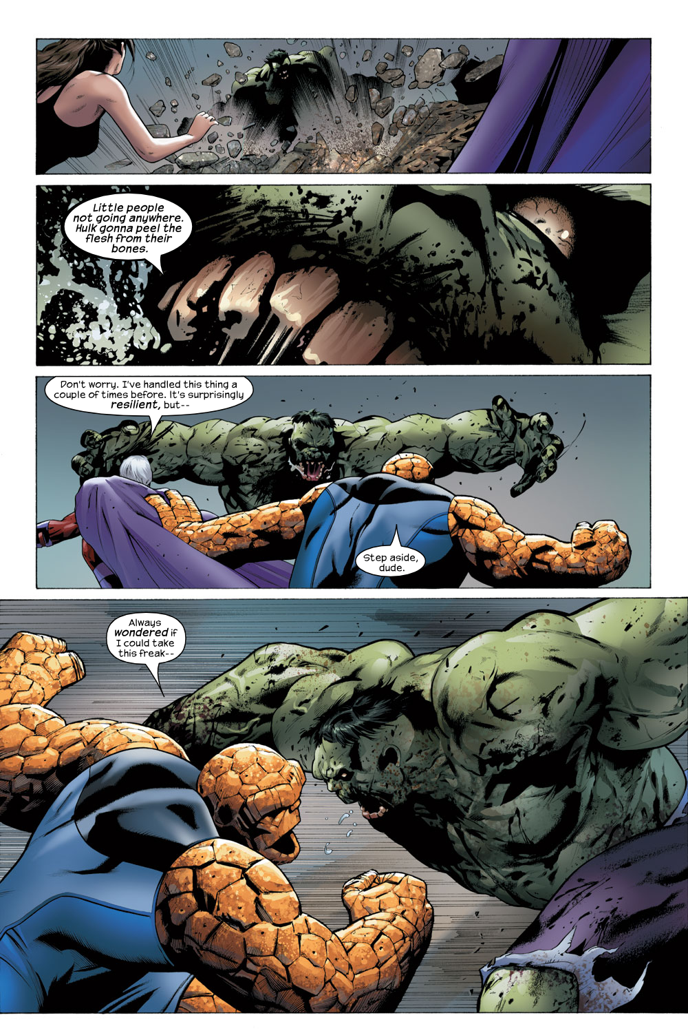 Read online Ultimate Fantastic Four (2004) comic -  Issue #23 - 17