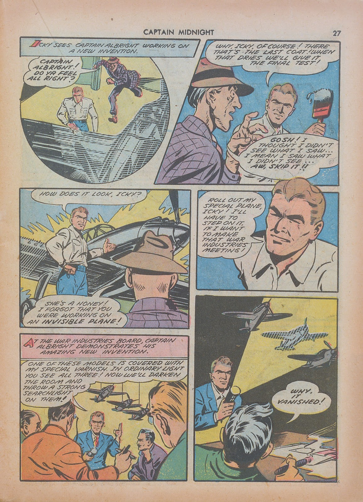 Captain Midnight (1942) issue 7 - Page 27
