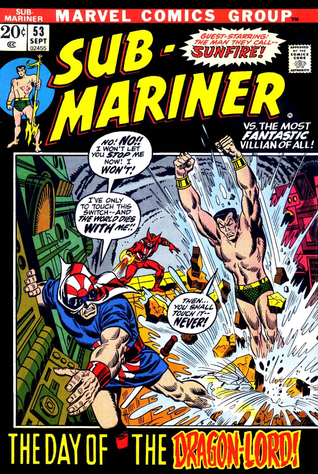 The Sub-Mariner 53 Page 1