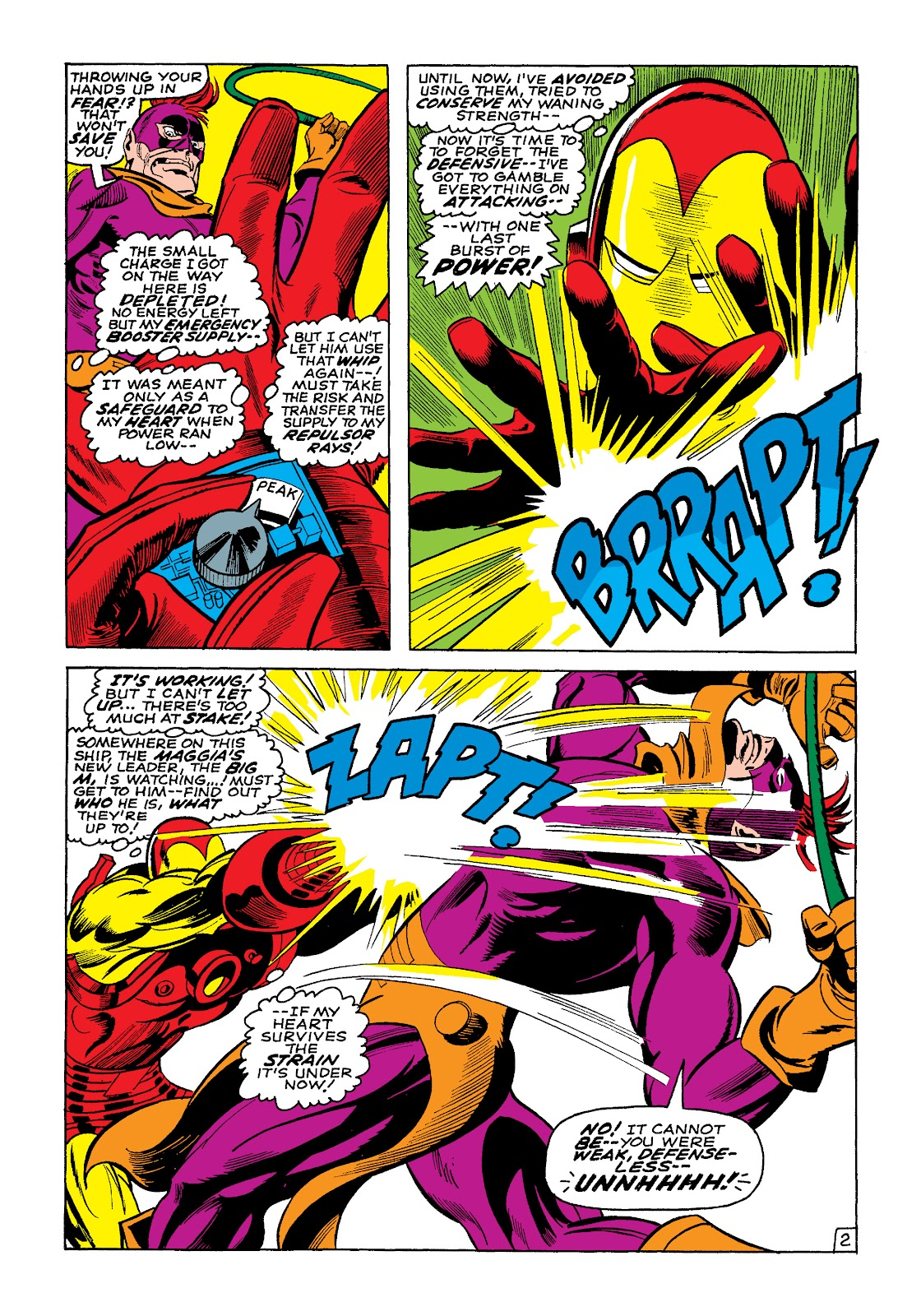 Read online Marvel Masterworks: The Invincible Iron Man comic -  Issue # TPB 4 (Part 3) - 2