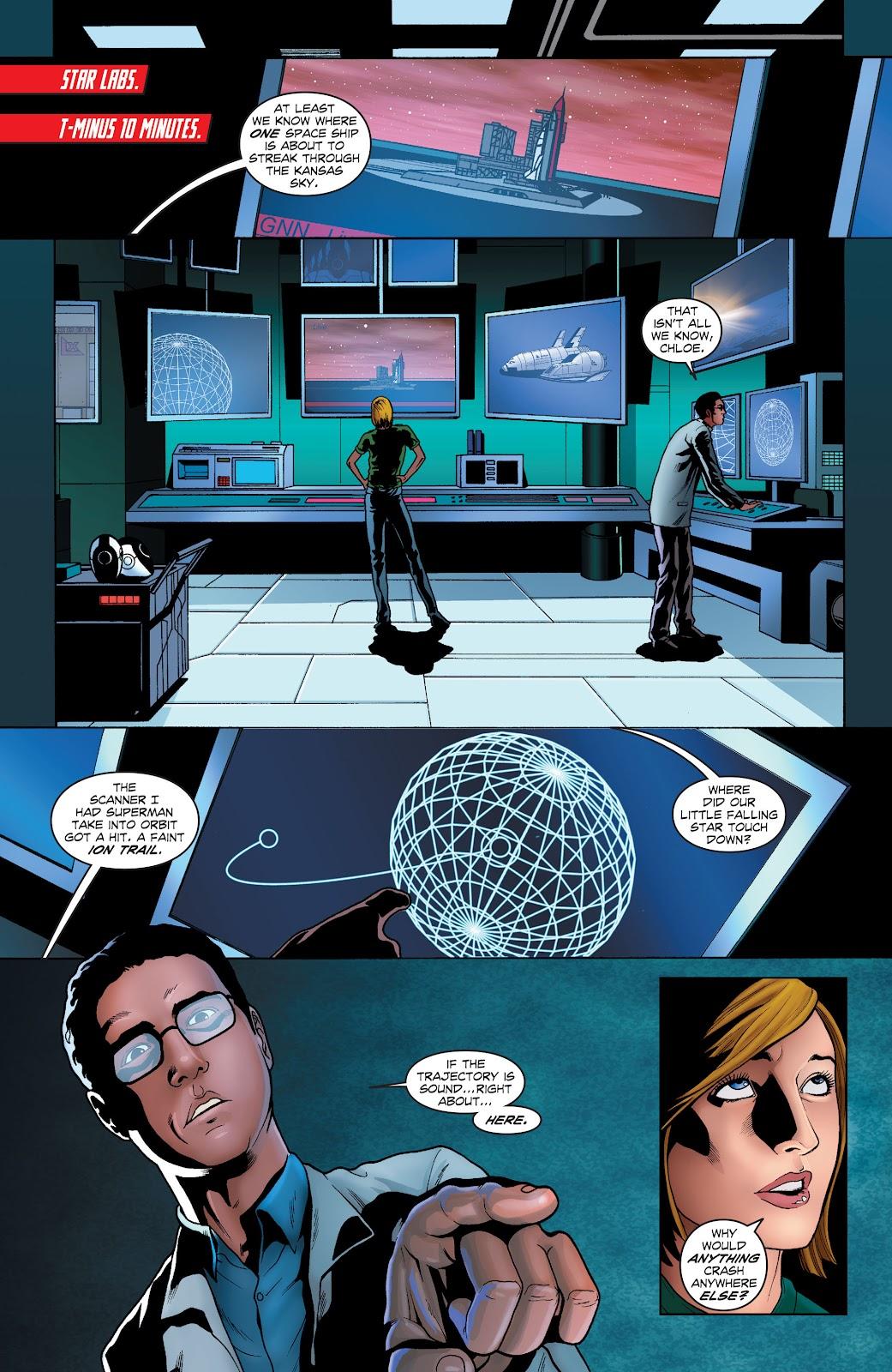 Read online Smallville Season 11 [II] comic -  Issue # TPB 1 - 55