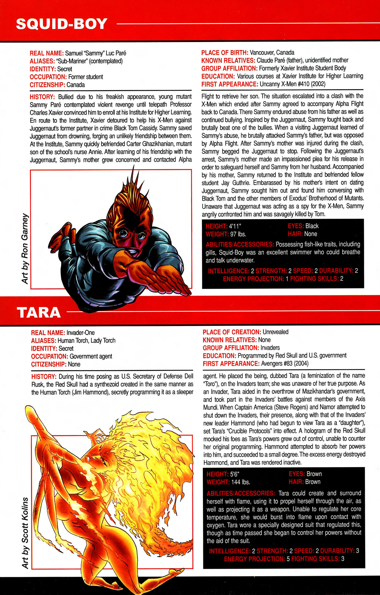 Read online All-New Official Handbook of the Marvel Universe A to Z comic -  Issue #10 - 66