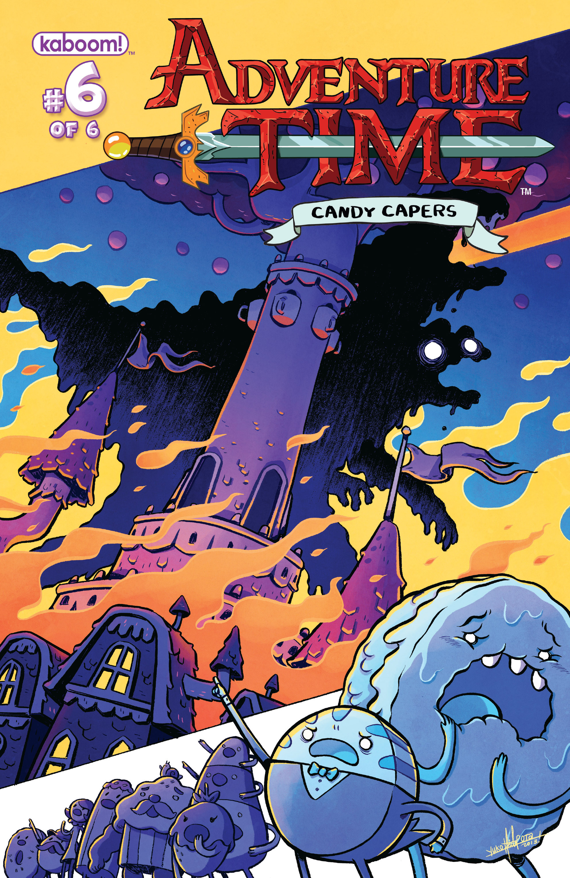 Adventure Time: Candy Capers 6 Page 1