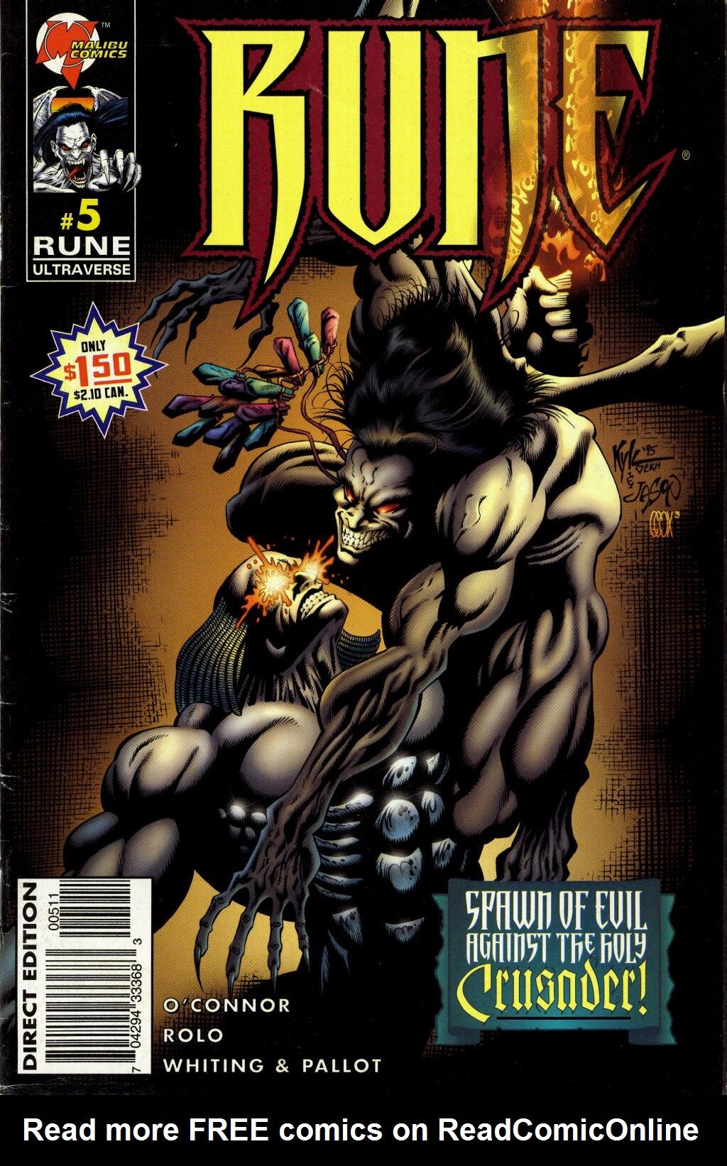 Read online Rune (1995) comic -  Issue #5 - 1