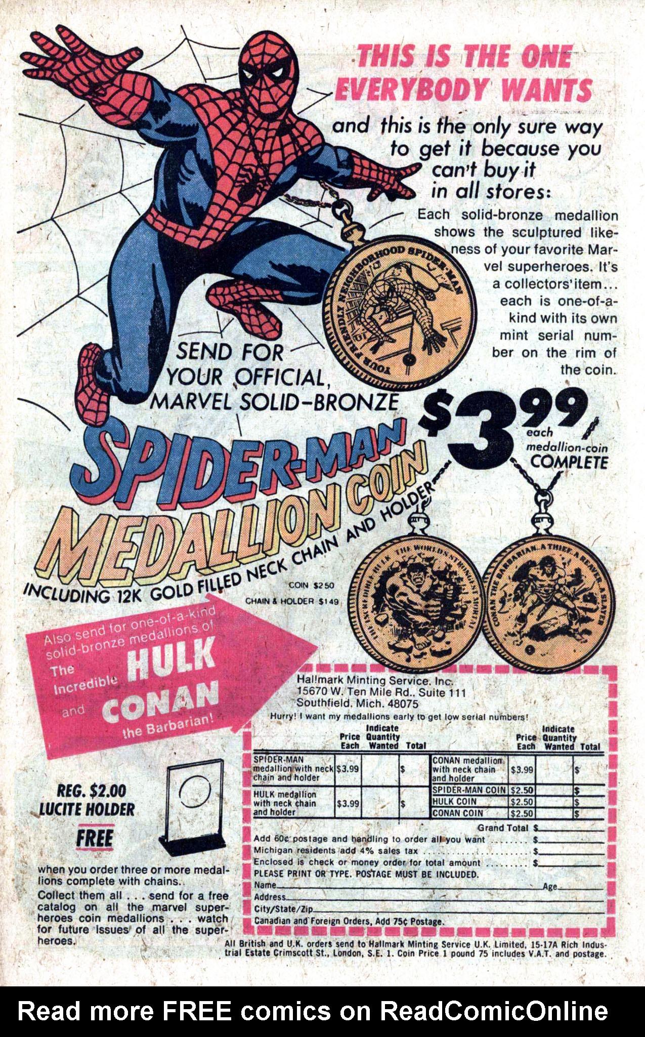 Read online Amazing Adventures (1970) comic -  Issue #27 - 22