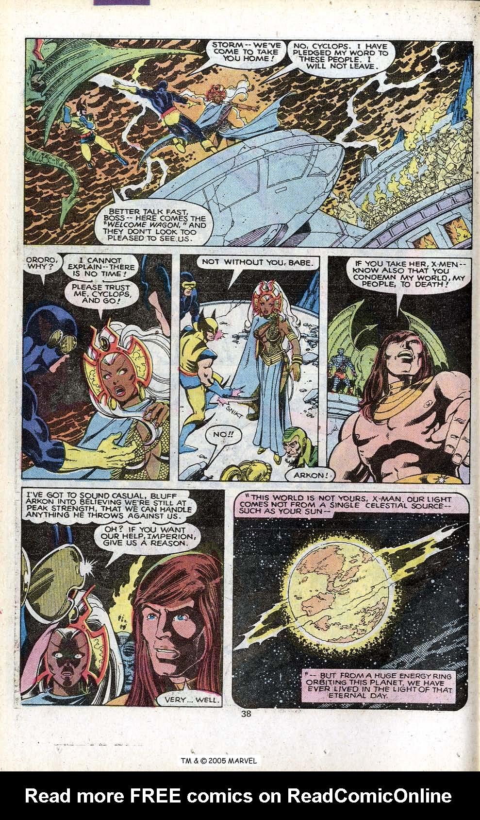 Read online Uncanny X-Men (1963) comic -  Issue # _Annual 3 - 40