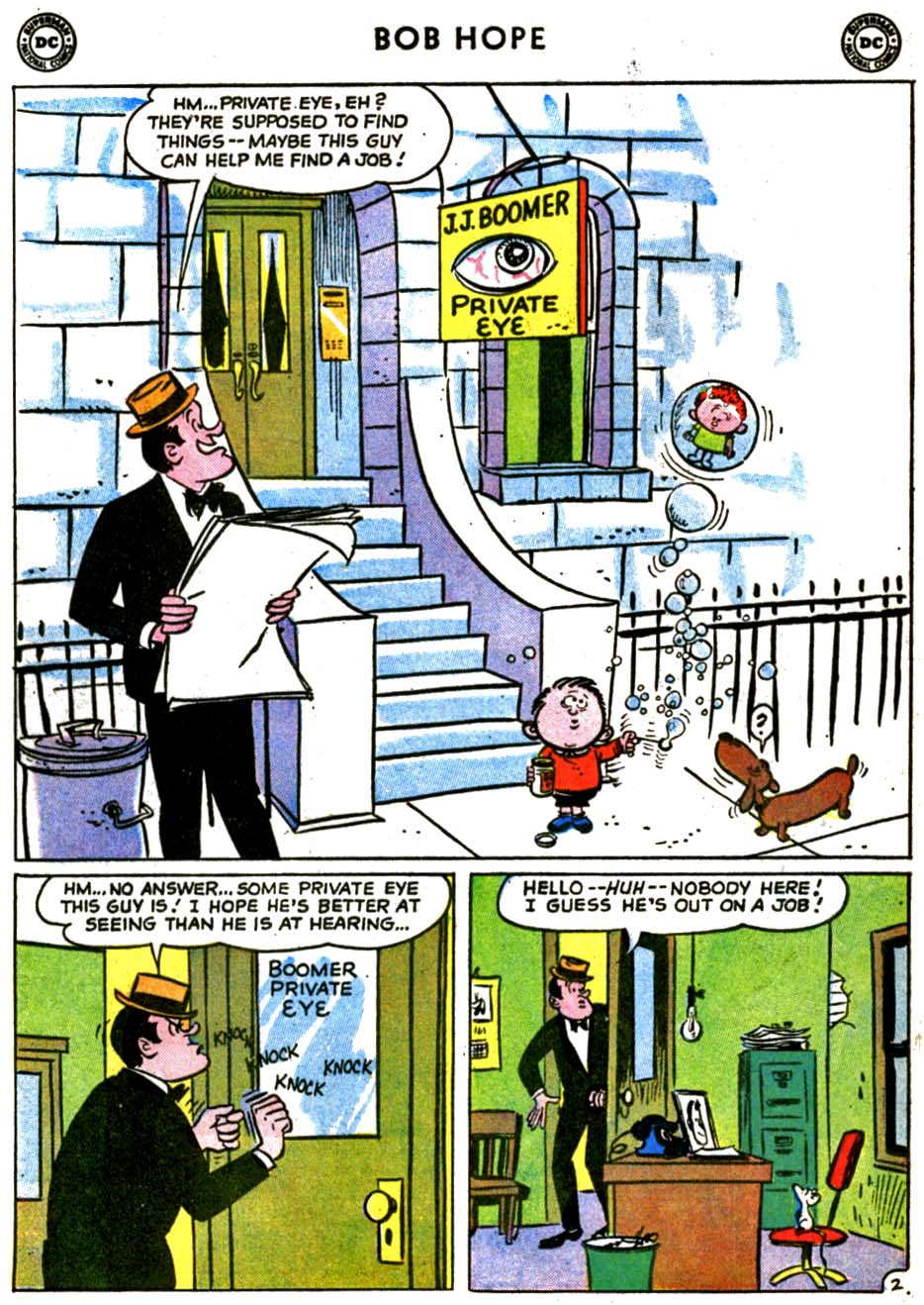 The Adventures of Bob Hope issue 69 - Page 4