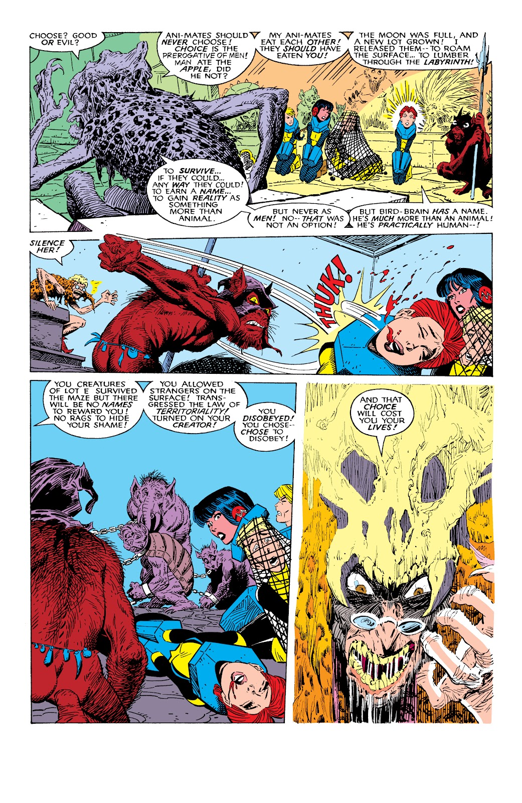 Read online X-Men Milestones: Fall of the Mutants comic -  Issue # TPB (Part 2) - 13
