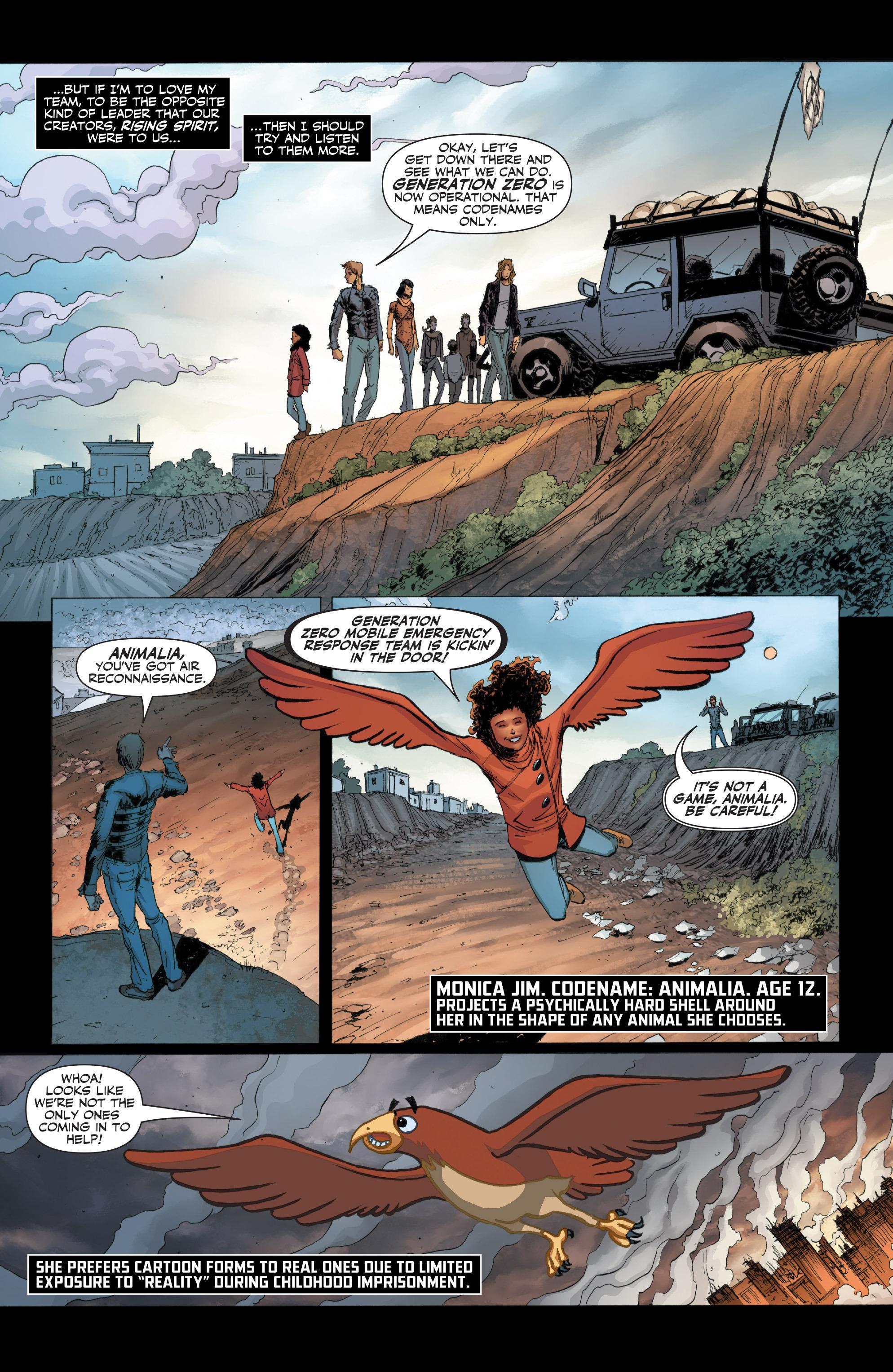 Read online Armor Hunters: Harbinger comic -  Issue # TPB - 15