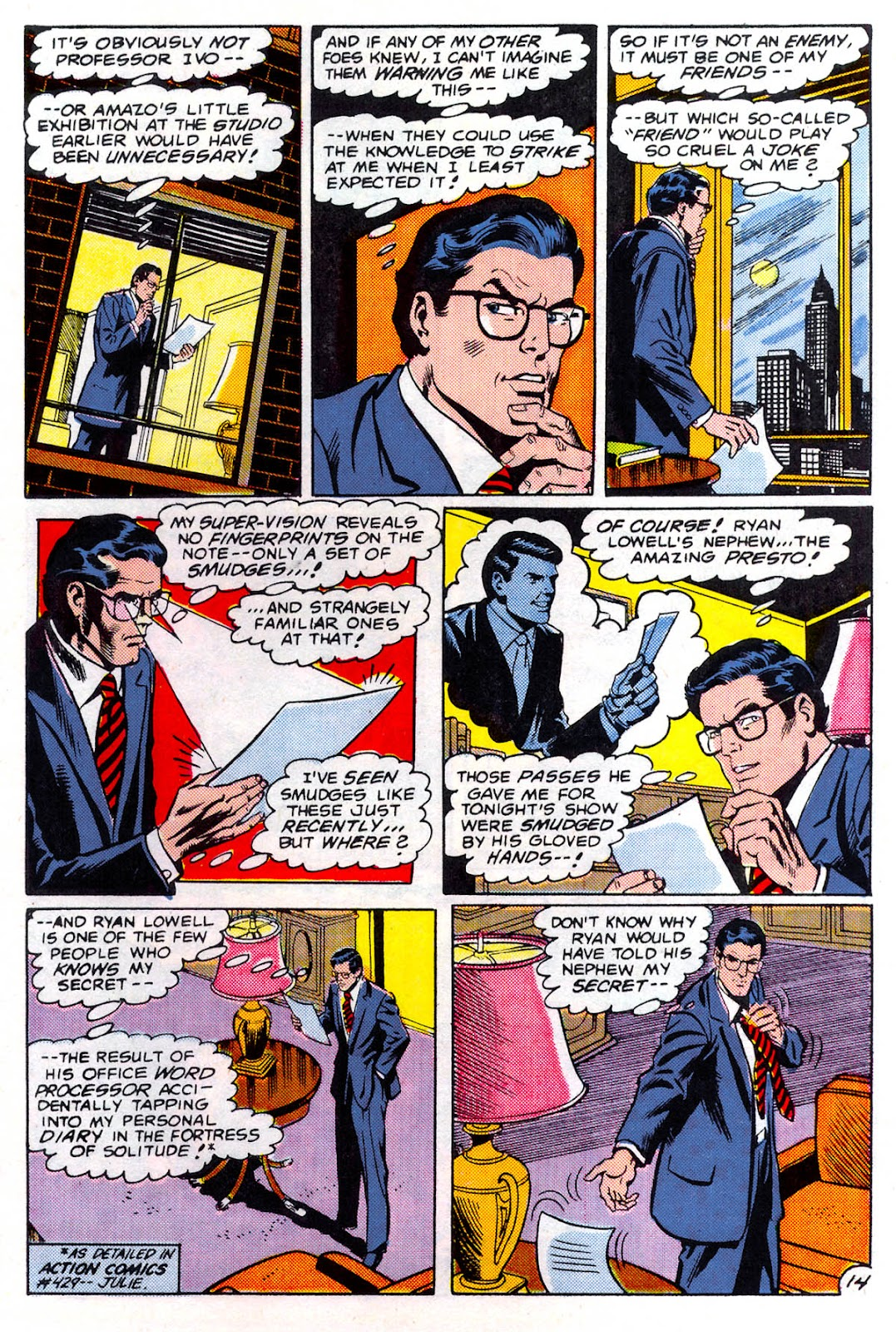Read online Superman Special (1983) comic -  Issue #3 - 15