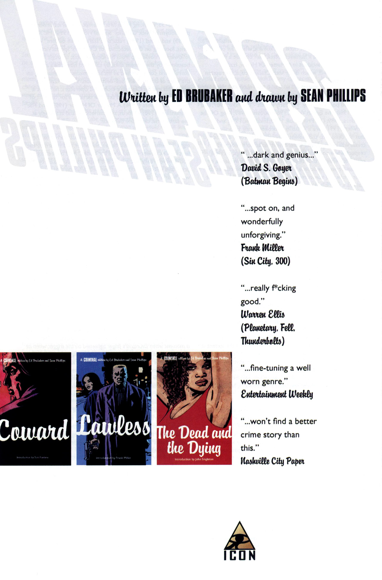 Read online Criminal (2008) comic -  Issue #5 - 37