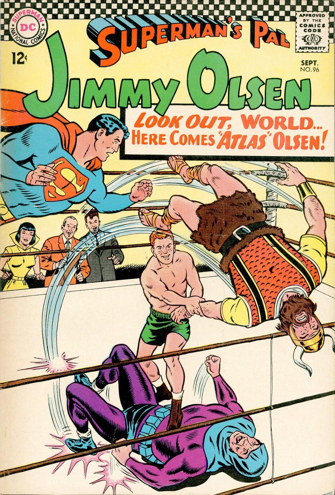 Supermans Pal Jimmy Olsen (1954) 96 Page 1