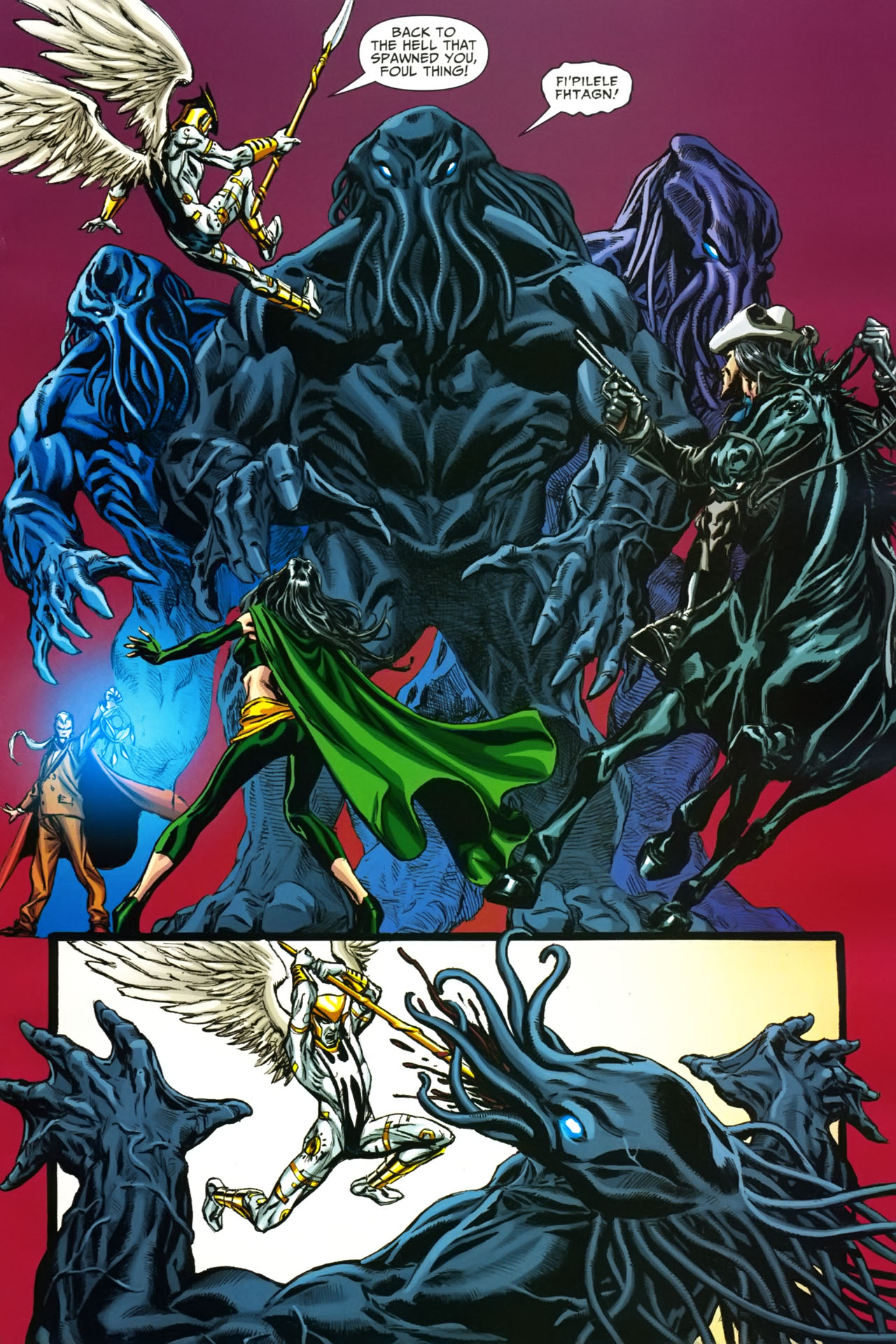 Read online Shadowpact comic -  Issue #19 - 10