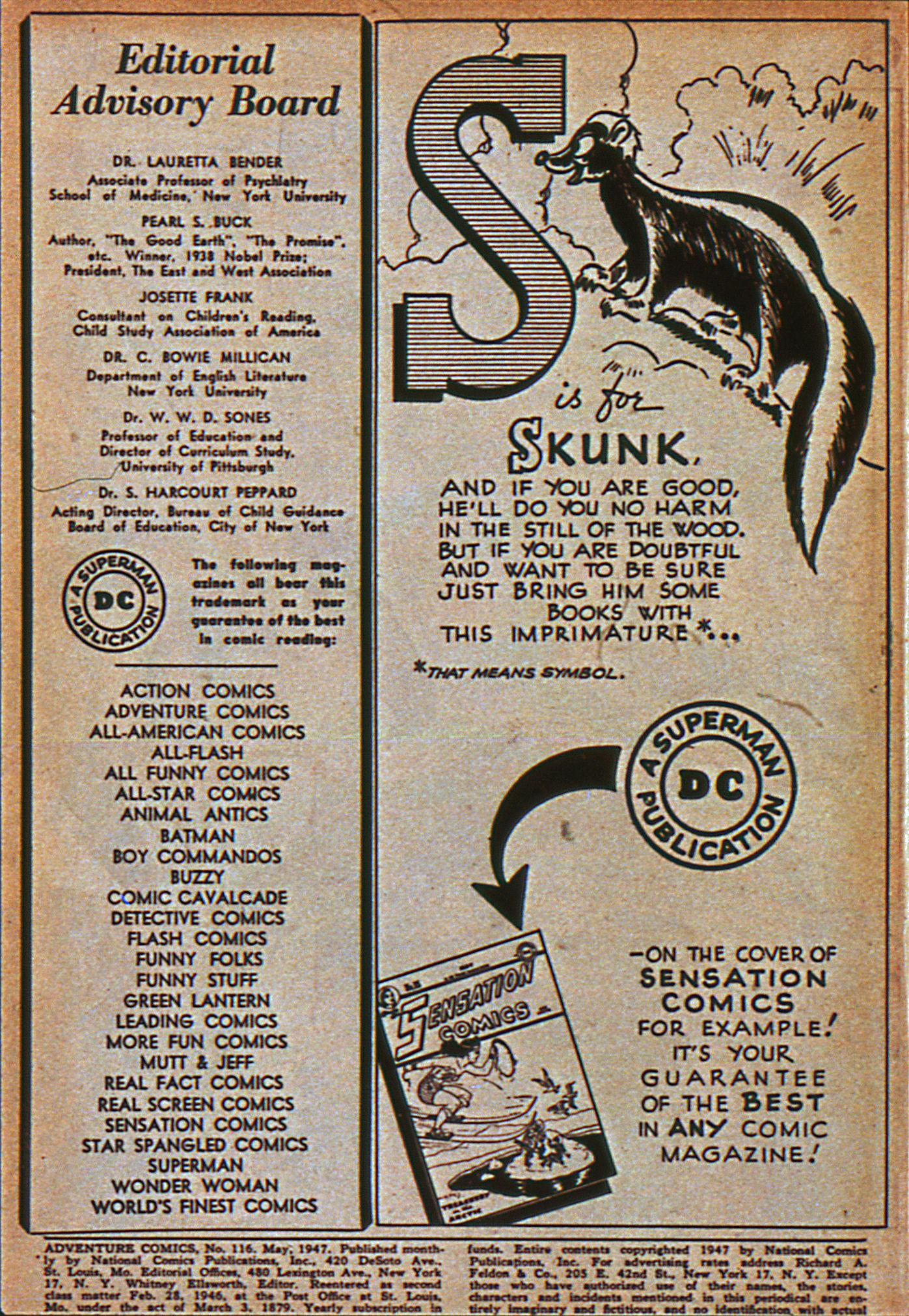 Read online Adventure Comics (1938) comic -  Issue #116 - 3