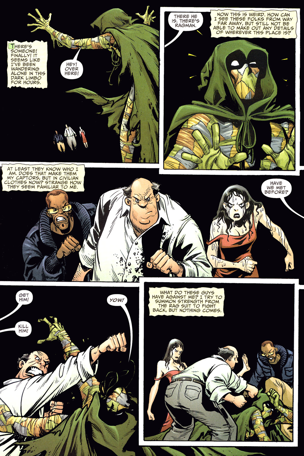 Read online Shadowpact comic -  Issue #8 - 10