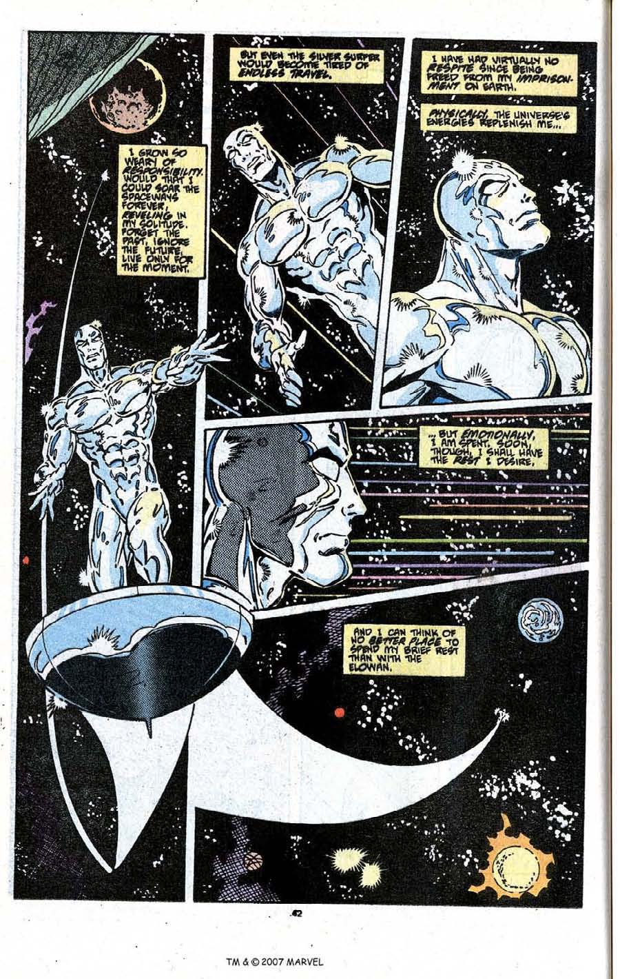 Read online Silver Surfer (1987) comic -  Issue # _Annual 3 - 44
