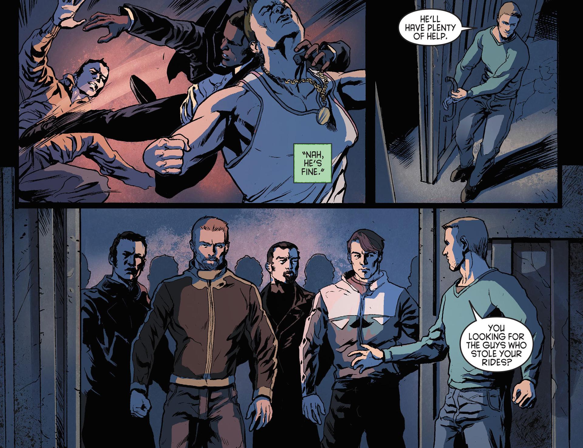 Read online Arrow [II] comic -  Issue #21 - 20