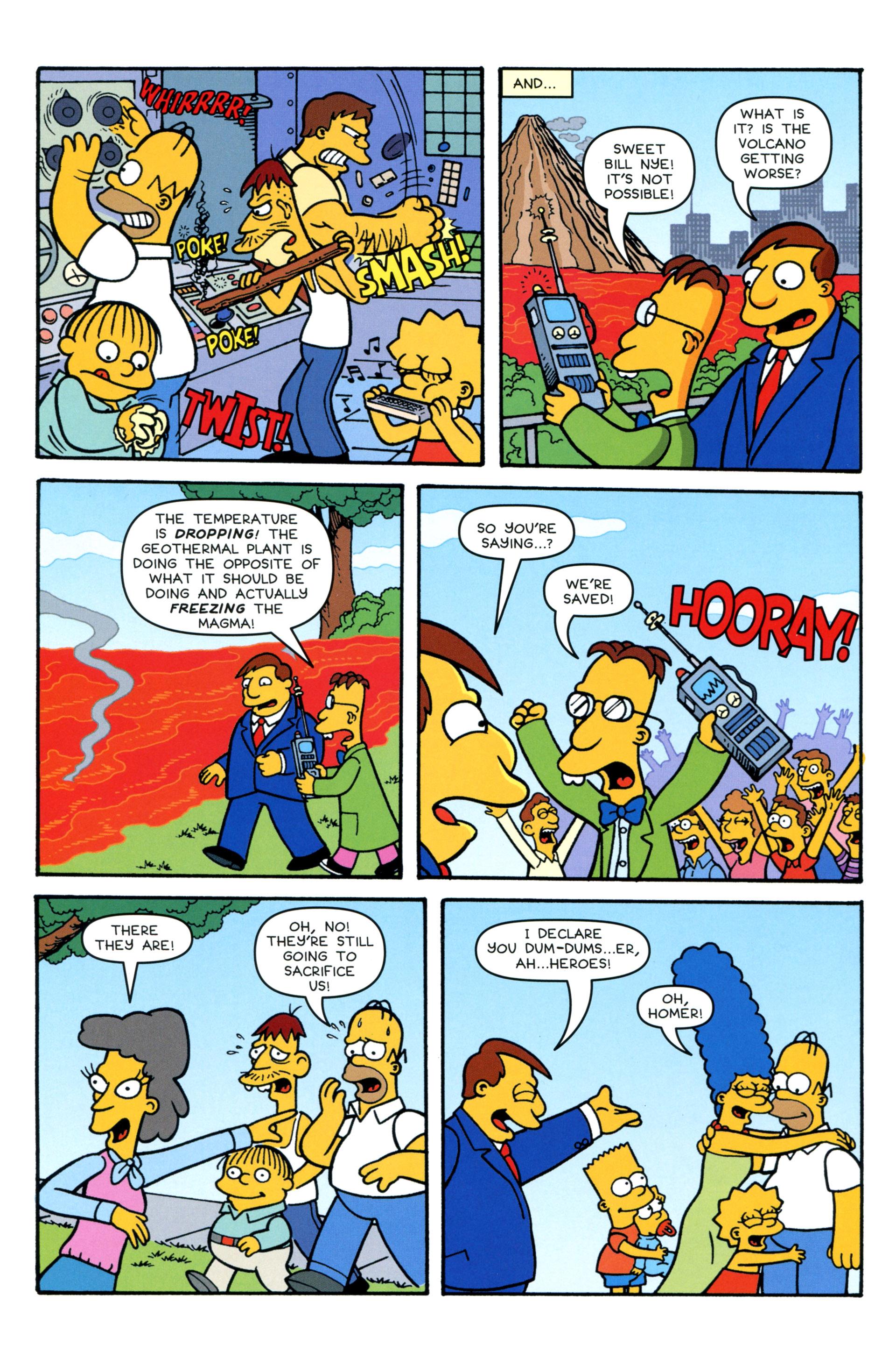 Read online Simpsons Comics comic -  Issue #206 - 22